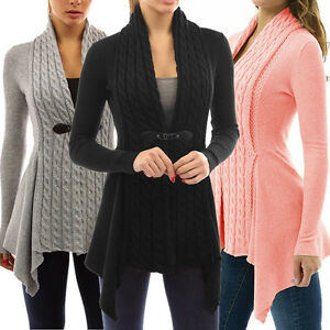 Women-Long-Sleeve-Knitted-Cardigan-Loose-Sweater-Long-Jacket-Coat-Outwear-Tops