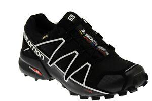 best sneakers e6616 4b7a1 Dettagli su SCARPE Salomon SPEEDCROSS 4 GORETEX Trekking TRAIL RUNNING  SPORT UOMO GINNASTICA