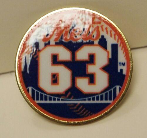 The New York Mets #63 Tim Peterson Pin Baseball NY Sports Lapel