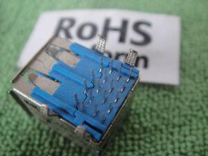 5pcs HiSpeed USB 3.0Jack A Female 9 Pin Dual-2-Port PCB Socket Connector US16 zt