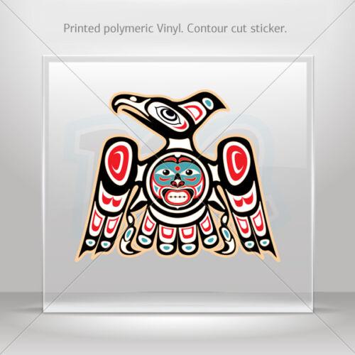st5 W96RS Stickers Autocollant Aguila AZTECA Aztèque Eagle