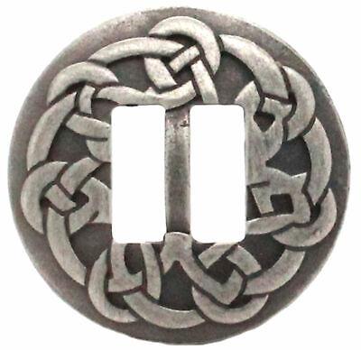 "Pinwheel Concho Antique Nickel 1/"" Stecksstore 2257-21 2.5 cm"