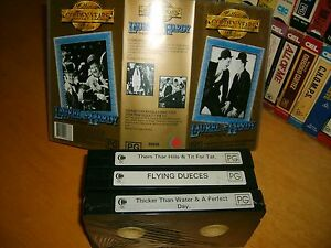 LAUREL-amp-HARDY-GOLDEN-YEARS-Box-Set-Collectors-Edition-Australian-VHS-Issue