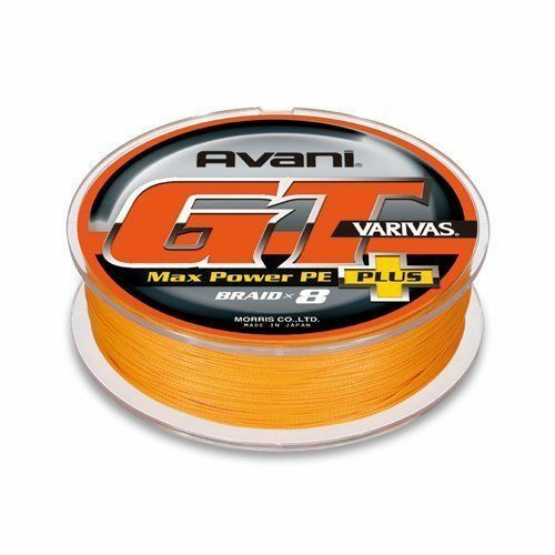 MORRIS PE LINE VARIVAS Avani GT Max Power Plus 300m  6 85lb arancia