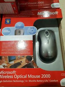 285fd2fbf08 Image is loading NEW-UNUSED-MICROSOFT-WIRELESS-OPTICAL-MOUSE-2000-P-