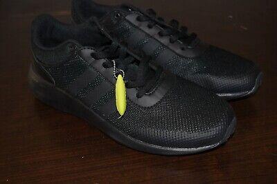Mens Adidas NEO Cloudfoam Race Black Sneaker Athletic Sport Shoes - Size 10 US   eBay