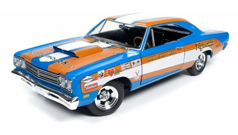 1969 Plymouth Road Runner Don grotheer Drag Racing 1:18 AUTO World ERTL aw220