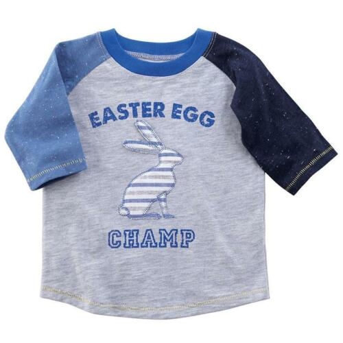 """Mud Pie Spring Collection /""""Easter Egg Champ/"""" Boys T-Shirt"""
