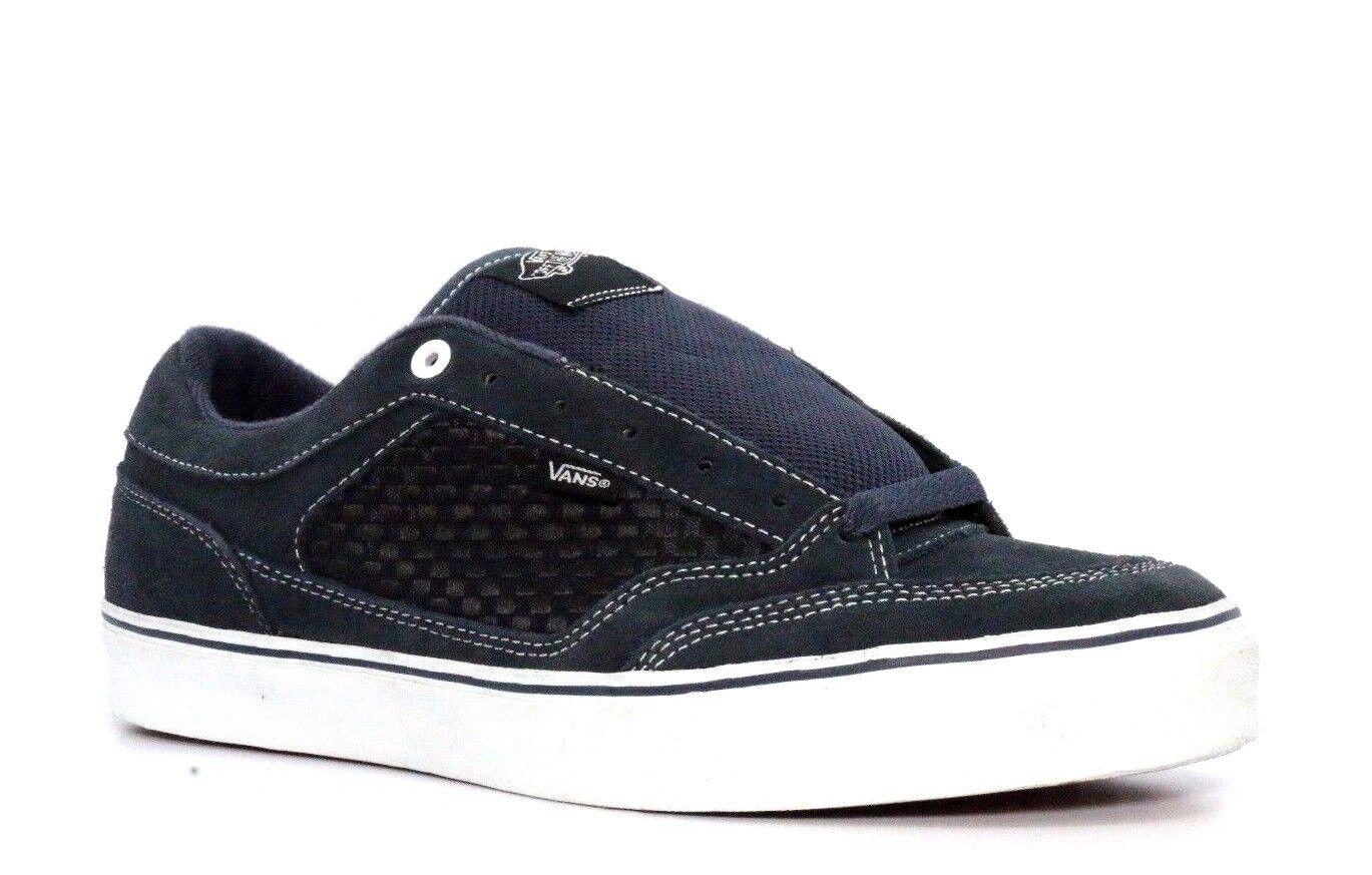 VANS VN-0HHZ3K4 Suede SHINER Mn's (M) Navy Suede VN-0HHZ3K4 Skate Shoes 801465