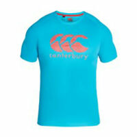 Canterbury Ccc Vapodri Large Logo Tee Peacock Blue Large