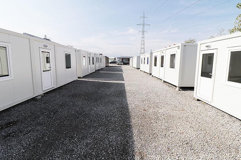Skurvogn, Skibscontainer, Wc-container,  Kontor...