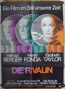 DIE-RIVALIN-Plakat-039-74-ELIZABETH-TAYLOR-HELMUT-BERGER-HENRY-FONDA