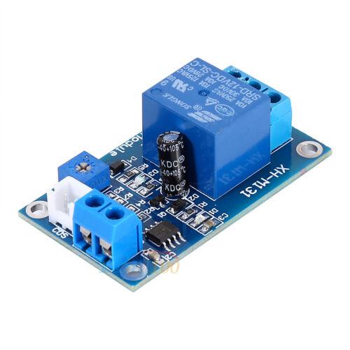 New 12V Light Control Switch Photoresistor Relay Module Detection Sensor XH-M131