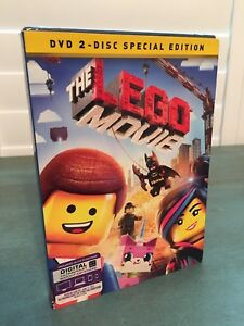New The Lego Movie Dvd 2 Disc Special Edition Factory Sealed Ebay