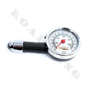 Metall-Reifendruckpruefer-Luftdruck-Pruefer-Druckanzeige-Reifenluftdruck-PKW