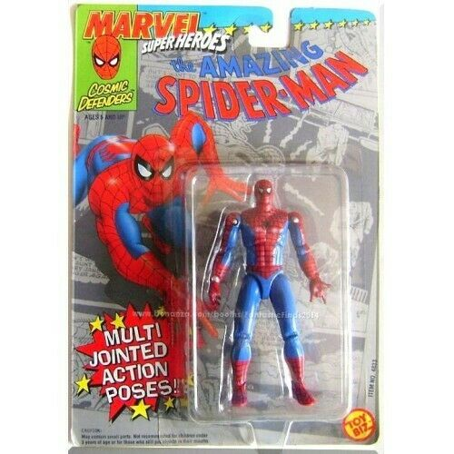 Marvel Super Heroes  The Amazing Spider-Man with Multi-Jointed Action toybiz