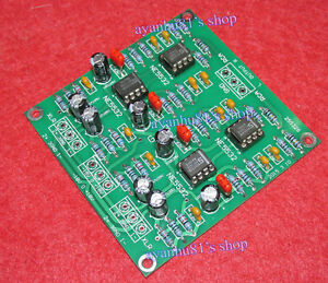 Balanced-to-Unbalanced-XLR-to-RCA-Stereo-Preamplifier-Board-ultra-low-distortion