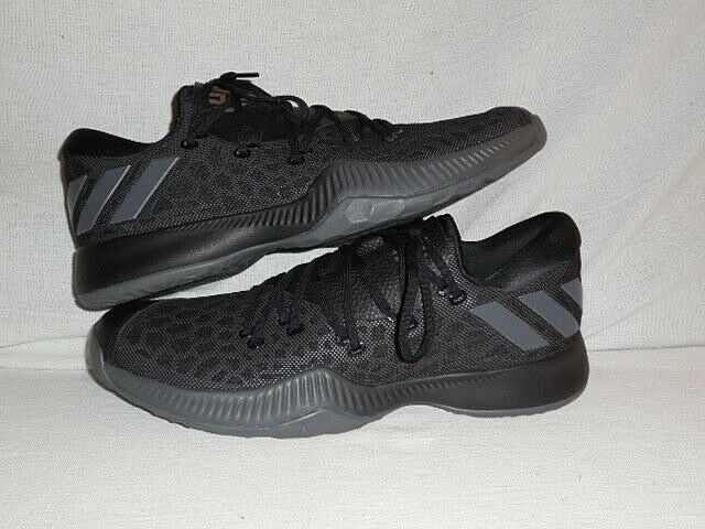 Adidas Harden B E Bounce low  Black GREY Basketball Sneakers MEN'S 15 (RARE)