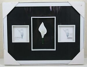 New Target Modern Home Shadow Box 3 Openings 35 X 35 Black And