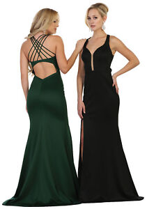 8d027dcd35cb DESIGNER SEMI FORMAL PROM DRESS SEXY SPECIAL OCCASION SIMPLE EVENING ...