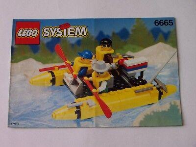 Konstruktiv Lego® Bauanleitung Instruction Nr 6665 Mangelware