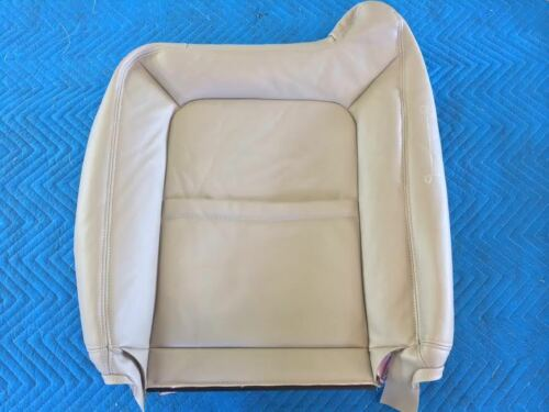 "03-06TAHOE//YUKON//SUBURBAN LEATHER DRIVER BOTTOM,BACK,ARMREST SHALE/""CREAM/""#522"