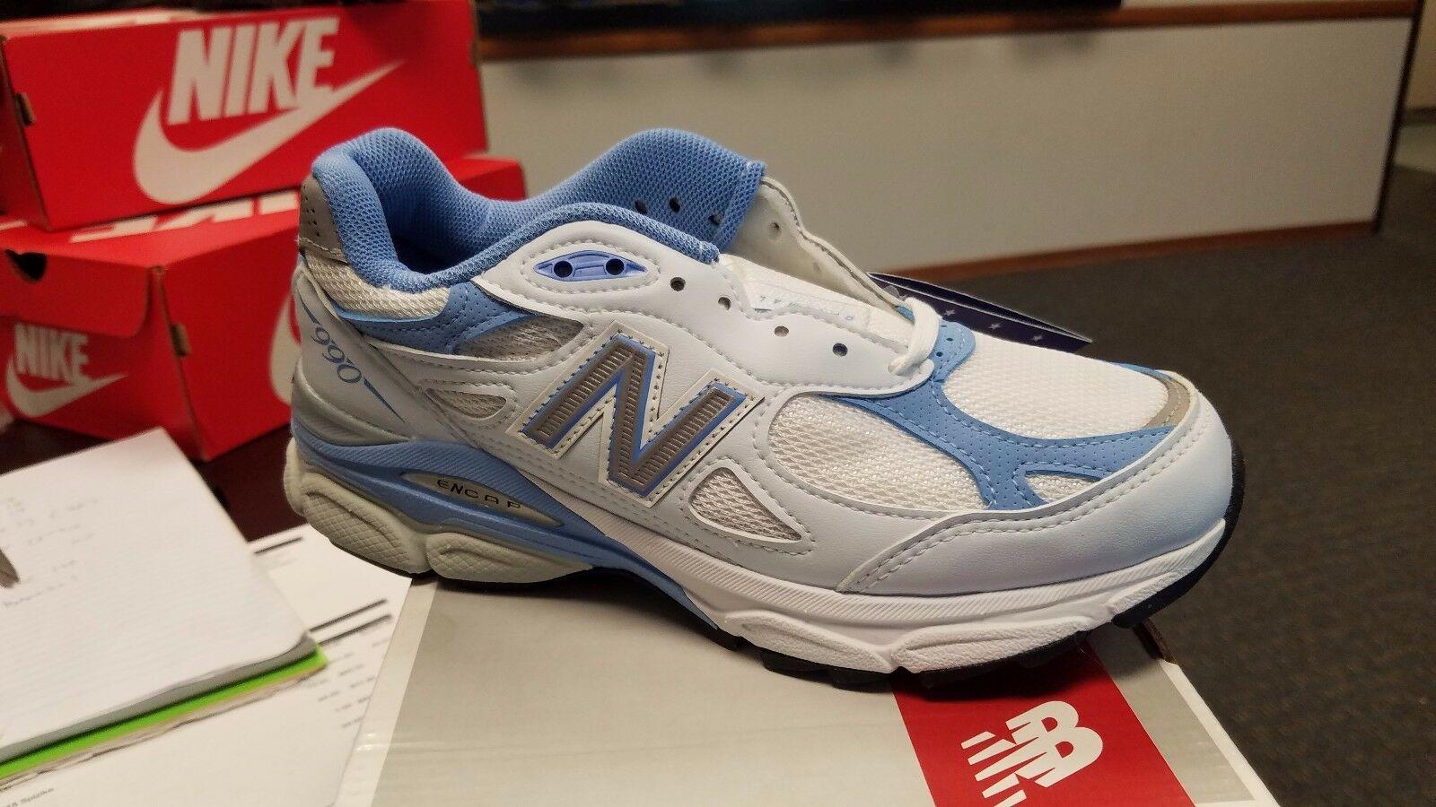 NEW WOMEN NEW BALANCE NB W990WB3 RUNNING RUNNING RUNNING SHOES MADE IN USA NEW IN BOX 09c1b1
