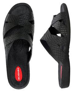 13a0e9374b8c66 Image is loading Okabashi-Cross-Strap-Sandals-for-Women