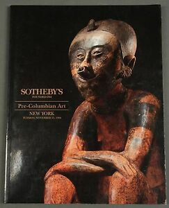Sothebys Pre-Columbian Art NY November 1994