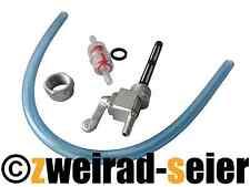 Set Benzinhahn Hahn, Schlauch, Benzinfilter Simson S50, S51, S53, S70, S83