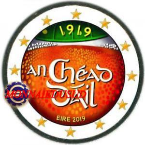 2-Euro-Commemorative-Irlande-2019-en-Couleur-Type-B-Assemblee-Daily-Eirea
