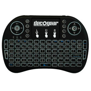 Small-Wireless-Backlit-Keyboard-Smart-Remote-w-Touchpad-Mouse-2-4GHz-Deco-Gear