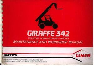 Liner-Telehandler-Giraffe-342-Telescopic-Boom-Workshop-Service-Manual