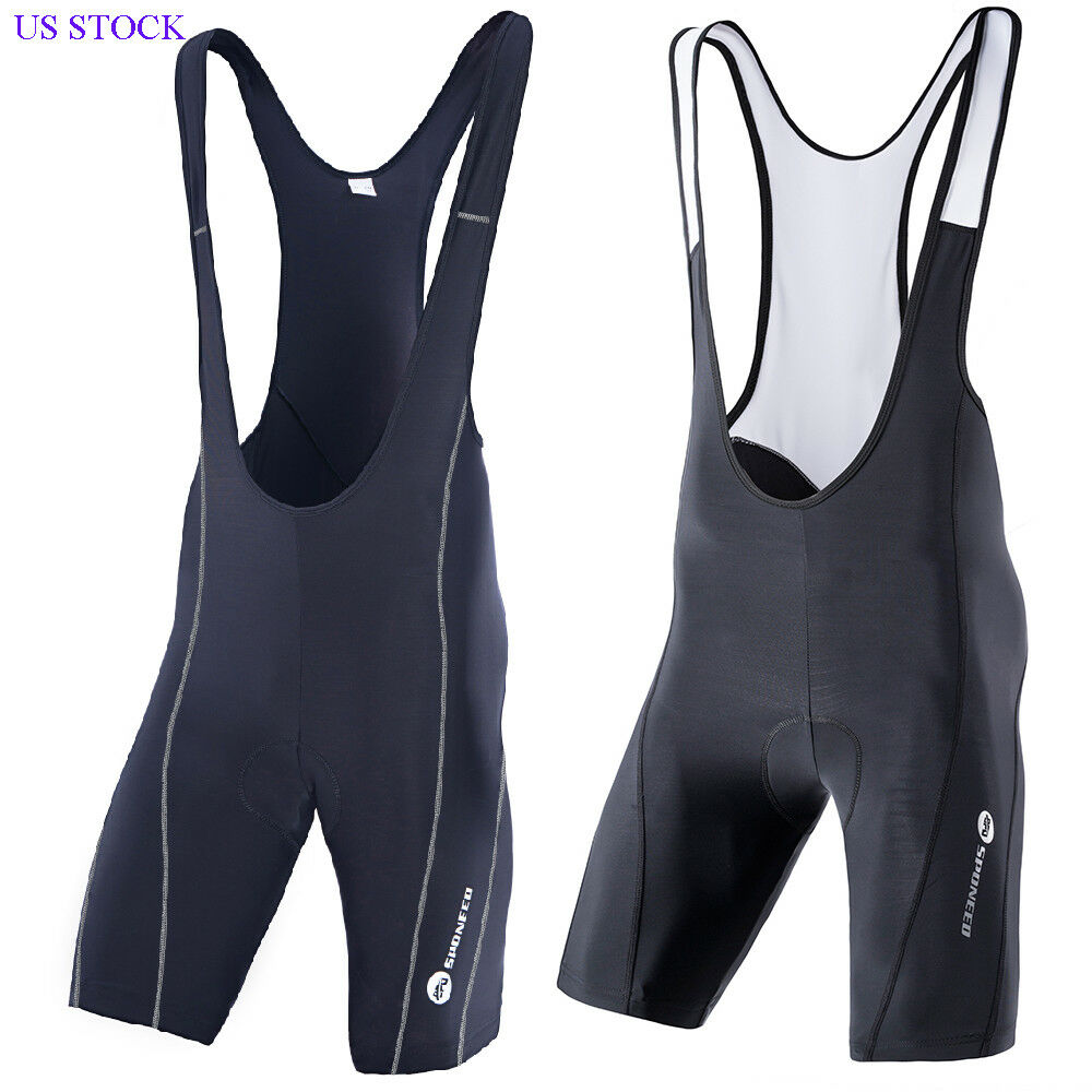 Cycling Bib Shorts Men Padded Sportswear Spandex Lycra Pro Spin Bicycle Tights
