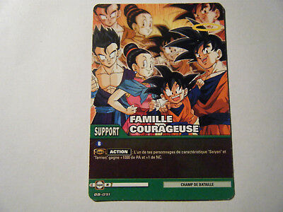 FIERTE DE LA FAMILLE TB2-023 SR DBZ FR NEUF Carte Dragon Ball Super PAN
