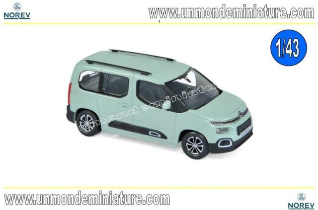 Citroën Berlingo 2018 Aqua Green NOREV - NO 155760 - Echelle 1/43 NEWS NOVEMBRE