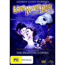 LOVE NEVER DIES : NEW DVD : Andrew Lloyd Webber