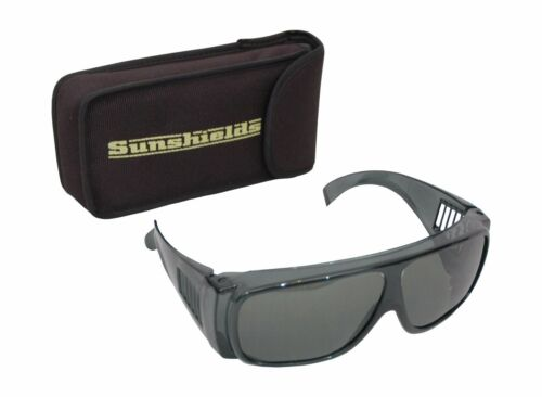 SUNSHIELDS Atlantis Sunglasses Polarised Tinted Frame Vented Folding Leg
