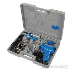 Acheter Pas Cher Pro 9pc Silverline 100 W électrique Soudure Pistolet & 30 W Fer À Souder Stand Tool Kit-afficher Le Titre D'origine
