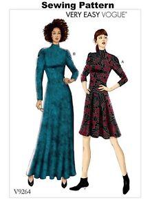 67be4f40c3b Vogue V9264 Very Easy PATTERN - Misses/Misses Petite Dress Size 6-22 ...