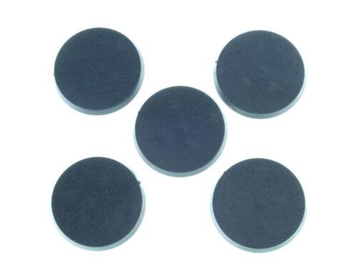 5x 40mm round Base - *BITS* Bases