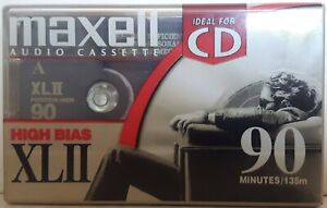 Maxell XLII High Bias 90 Minute Audio Cassette - New, Factory-Sealed