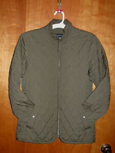 Image Is Loading Women 039 S Lands End Quilted Jacket