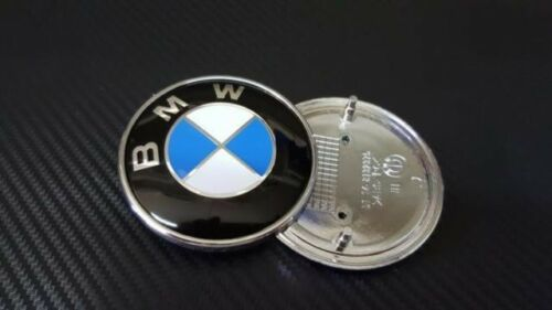 Stemma logo emblema badge bmw nuovo cofano 82 mm 320 330 530 x1 x5 x6 SERIE 1 2