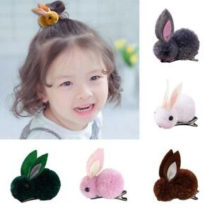 Cute-Rabbit-Plush-Girls-Baby-Hair-Clip-Hair-Band-Ties-Rope-Ring-Ponytail-Holder