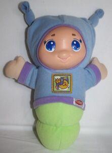 "Hasbro 10"" 2005 Lullaby Gloworm Blue EUC"