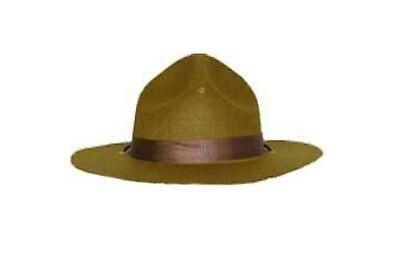 Mountie Hat Park Ranger Canadian Police Trooper Halloween Costume Mounty Green