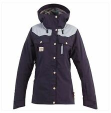 2016 NWT WOMENS BILLABONG NELL SNOWBOARD JACKET $300 M peacoat venting label