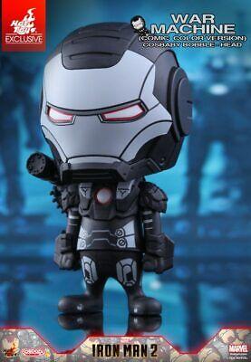 Hot Toys Cosbaby Iron Man 2 War Machine Whiplash Iron Man Marvel Comics NEW
