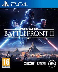 STAR-Wars-Battlefront-II-2-Ps4-come-nuovo-lo-stesso-giorno-di-spedizione-1st-Class-consegna-gratuita